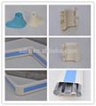 Pvc perfil de aluminio rail barandilla