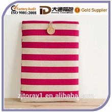 Horizontal Stripe Custom 15.6 Inch Laptop Sleeve Tablet Case