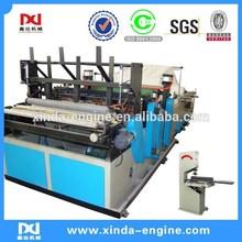 full automatic toielt paper machine rolls rewinder toilet tissue industrial roll toilet paper machine SPB