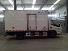 JMC JAC FRC chiller truck and chilling truck body with Carrier refrigerator unit
