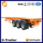 Factory Direct Sale 3 Axle 40t container container chasis