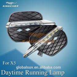 Daytime running light LED DRL fog lamp apply to BMW X5 E70 11-13