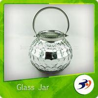 Wholesale Glass Jars Elegant Classic Candle Glass Jar Lid