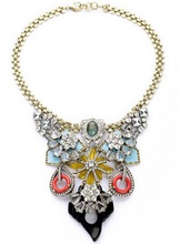 Big discount!!! New handmade fashion crystal necklace pendant for party