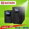 Ups en línea 110 v 220 v 50 hz 60 hz 1kva 2kva 3kva ups fuente de alimentación