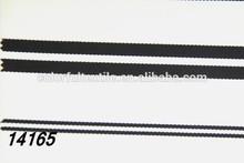 2015 China High Quality Printing Fashion Black White Stripe Fabric For dress