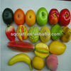 Lifelike Decorative Plastic Artificial Fake Fruit Home Deco Craft Lemon Yellow