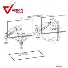top technology rotating monitor mounts