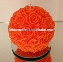 Wedding Flower rose ball candle wholesale