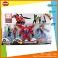 Super puissance 4 pcs, 3d action figure jouets en pvc