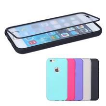 top quality tpu flip bumper case cover for iphone 6