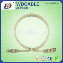2015 Wandong Professional Manufacture Cat5e/CAT6/Cat7 UTP/FTP Network RJ45 Patch Cord