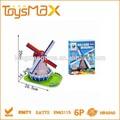 Hollande windmill 10.9 pcs, Enduit 3d cube puzzle avec EN71