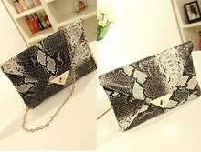 Vintage Style Women's Snake Skin Envelope Bag Day Clutches Retro Vintage Handbag SV002902