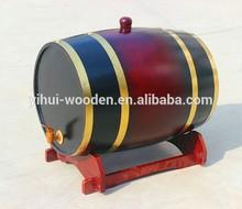 used 225L oak wine barrels