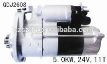 motor starter Hino J08C 5.0KW 24V 11T QDJ2608