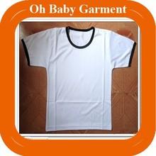 Jiangxi wholesale 100% cotton promotional mens white t-shirt