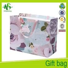 Grace flower paper bag Luxury paper bag gift shopping bag