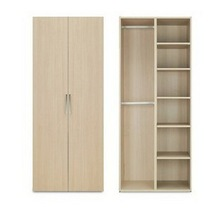 Furture mirrord armoire wardrobe home future modern storage closet design