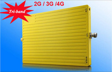 Mobile Signal Booster 900 1800 3G 2G 3G 4G Tri-band Signal Booster
