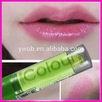 Wholesale New Popular Waterprrof Magic Fruity Smell Changable Color Lipstick Lip Balm