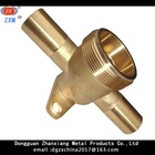 Dongguan fabricate ace brass lathe parts used equipment