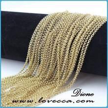 gold necklace chain,necklace plain chain,cheap necklace chains