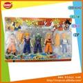 5 pcs dragon ball z figura de ação brinquedos