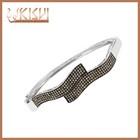 KISVI 925 sterling silver zircon bracelet zircon bangle ,bracelet wholesale