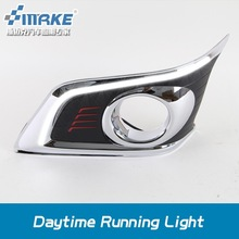 new arrived car-special led daytime light for toyota hilux vigo 12'-15 led drl fog lamp fog light