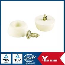 Silicone rubber bumper/furniture used silicone cream rubber bumper/adjustable rubber bumper