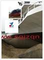 JINZHENG marca airbags marinos como muelle flotante de goma natural