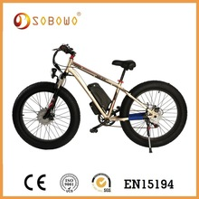 heavy-loading capacity 36V 18Ah fat tire ebike