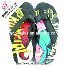 New style EVA light and soft purity men cross slippers / men's beach slippers