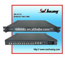 7in1 DVB satellite receiver / qpsk demodulator