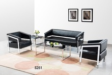 2015 New inflatable sofa l shape sofa cover leather office sofa setS251