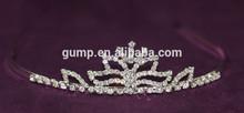 Girls High Quality Clear Crystal Tiara Rhinestone Crown