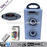 2015 colorful Rechargeable Mini Voptop Speaker Portable Srereo car subwoofer 10w mini vibration bluetooth speaker