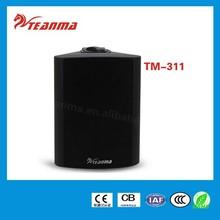 Public address system audio speaker,indoor sound system TM311 20W PA power speaker