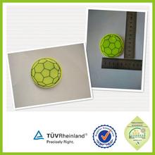 Custom wholesale new promotional pvc reflective keychains