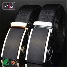 2015 Hotsale Customer trust factory men belts with changeable buckles with high quality