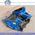 Walking tractor potato harvester