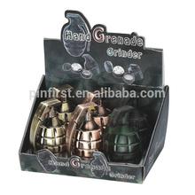 Colorful Grenade Design Smoking Metal Grinders for Sale