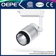 led track light 50w Black,silver CE led track lamp led track spot light