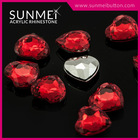 Red Siam Loose Acrylic Rhinestone for Bag Accessories