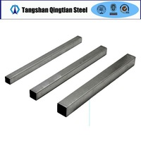 supplier of galvanized ms steel square tube 100 x 100