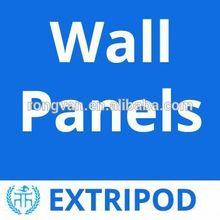Extripod lightweight fireproof sandwich panel