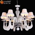 Colorido iluminação lustre, Mini chandelier shades OMG88607-8