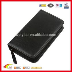 Portable Faux Leather 80 Disc CD DVD Wallet Storage Organizer Holder Bag Case