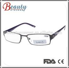 Italian style design half eye reading glasses frames